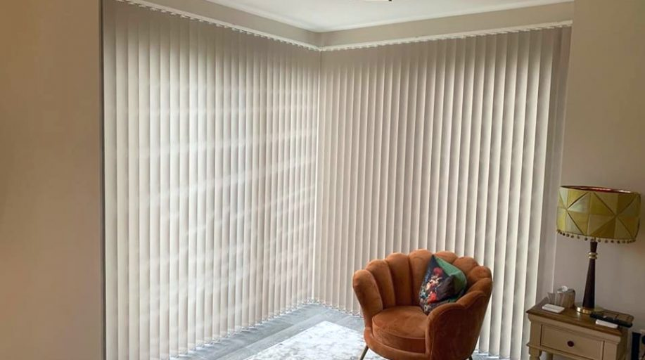 Vertical Blinds Fitted by Royal Blinds & Shutters